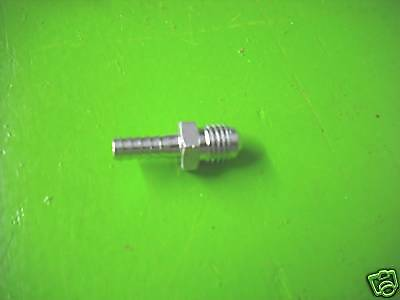 """Stainless Flare to Barb Adapter 5/16"""" MF x 1/4"""" Barb"""