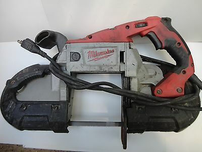 NICE MILWAUKEE 6232-20 Handheld Band Saw Deep Cut VARIABLE SPEED,LIGHT,WARANTY
