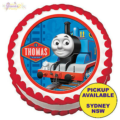 Thomas The Tank Engine Birthday Party Edible Cake Image Topper Icing Decoration