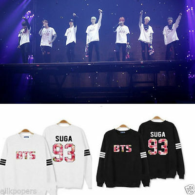 KPOP BTS In Bloom Sweater Bangtan Boys Jung Kook Hoodie JIMIN Sweatershirt Suga