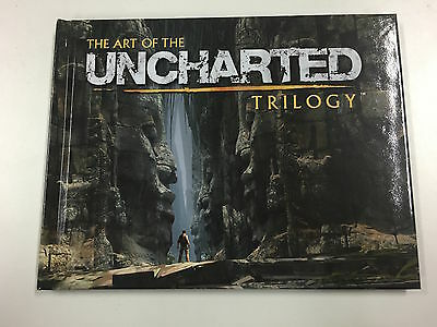 Official The Art of Uncharted Trilogy Artbook (Small) *NEW* + Warranty!