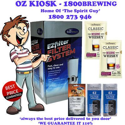 EZ Filter System @ $129 By STILL SPIRITS - SCOTCH WHISKEY PROMO - 31158