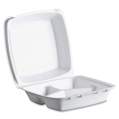 Dart Foam Clamshell Takeout Containers - DCC85HT3
