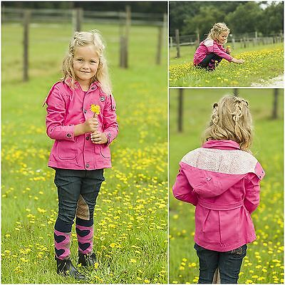 HKM Sweetheart Kids Child Stable Winter Warm Comfy Breathable Detatchable Jacket