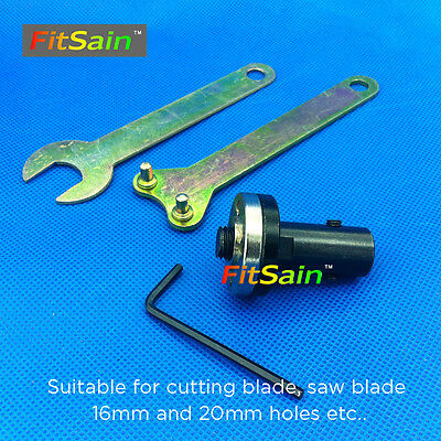 FitSain--Used for motor shaft 8mm Adapter bar for saw blade 16mm/20mm holes