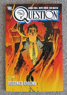 QUESTION: POISONED GROUND TPB (VOL. 2) (2008 Series) #1