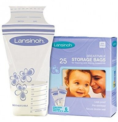 Lansinoh Breastmilk Storage Bags (Pack Of 25)