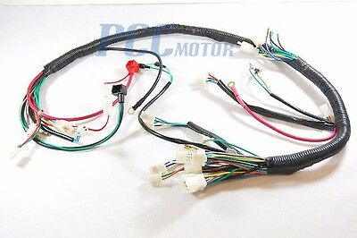 Aftermarket Wiring Harness Chinese Atv Quad Moped Scooter U Wh09S