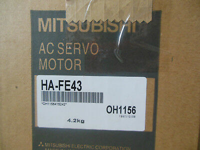 MITSUBISHI SERVO MOTOR HA-FE43 FREE EXPEDITED shipping HAFE43 NEW