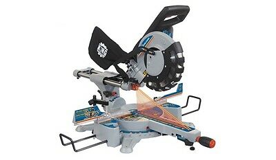 """King Canada Tools 8385N 10"""" SLIDING DUAL COMPOUND MITER SAW WITH TWIN LASER Scie"""