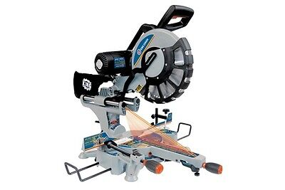 """King Canada Tools 8390N 12"""" SLIDING DUAL COMPOUND MITER SAW WITH TWIN LASER Scie"""