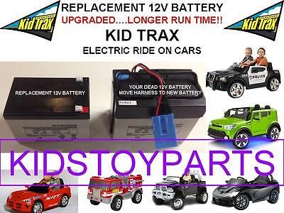 Long Lasting Replacement Kid Trax 12 Volt 15 Ah Rechargeable  Battery Brand New