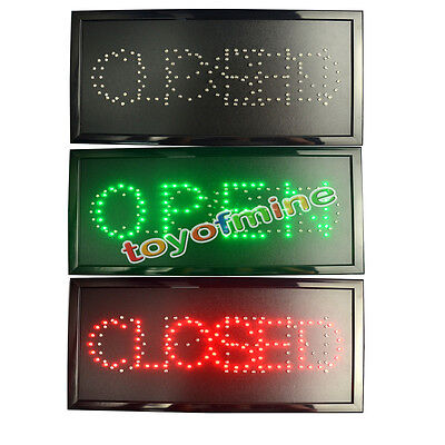 Very Bright LED BUSINESS OPEN/CLOSED Sign with On/Off Switch!!