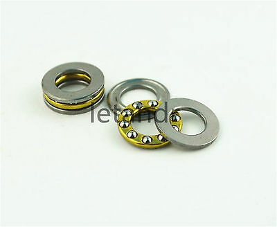 5/10/20pcs Mini 3-in-1 Plane Axial Ball Thrust Bearing F2-6M To F12-23M Bearings