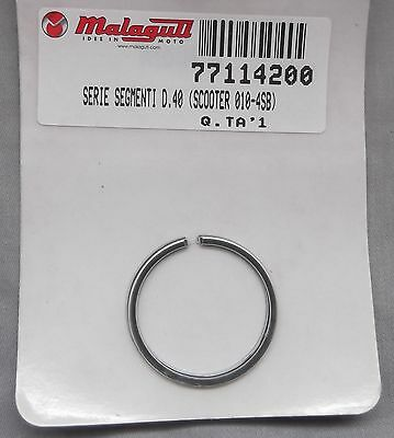 Genuine Malaguti F12 Phantom F15 Fire Fox Piston Ring Set d=40mm 771.142.00