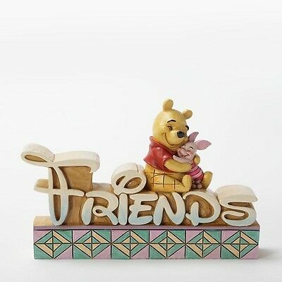 Disney Traditions by Jim Shore Pooh and Piglet Friends Figurine