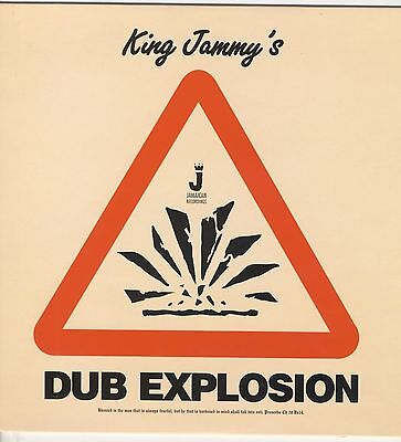 King Jammy  Dub Explosion New Vinyl Lp £10.99