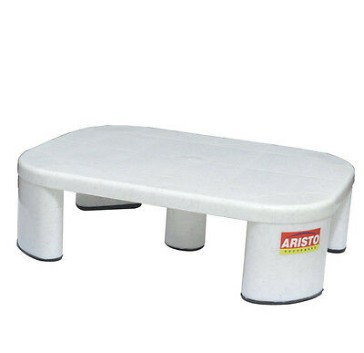 Large Non Slip Robust Utility Foot Stool Bathroom Kitchen Step Up Grip Patla