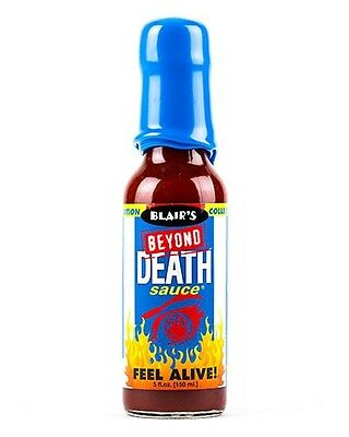 Blair's BEYOND DEATH SAUCE! BLAIRS HOT chilli BBQ PARTY SPICY summer