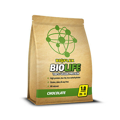 Bioflex Nutrition BioLife - Vegan Protein Powder - Organic Pea and Rice Isolate