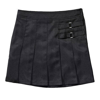 Girls Black Skort Two Tab Scooter French Toast School Uniform Sizes 4 to 20