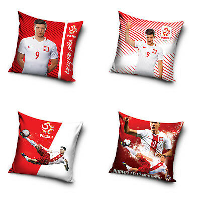 Robert Lewandowski Kissenbezug Kissenhülle Pillowcase Polen Poland 40 x 40 cm