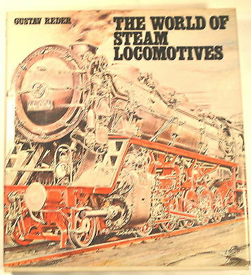 THE WORLD OF STEAM LOCOMOTIVES Book 1977 by G. REDER 4 model live myford lathe