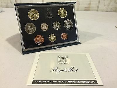 1989 Royal Mint UK Proof Coin Collection