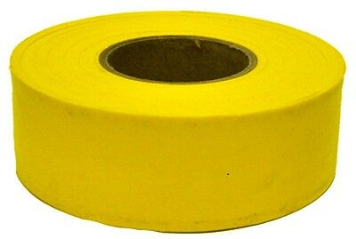 12 ROLLS IRWIN 65905 300 ft YELLOW VINYL FLAGGING TAPE MARKING RIBBON NEW