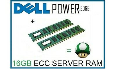 16GB (2x8GB) Memory Ram Upgrade for Dell Poweredge R710 and T710 Servers Only