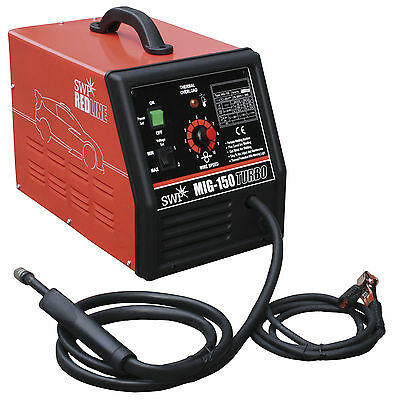 SWP Mig 150 Turbo - portable mig welding machine suitable normal & gasless welds