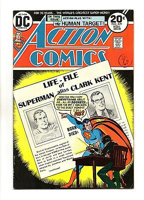 Action Comics Vol 1 No 429 Nov 1973 (VFN) DC Comics, Bronze Age  (1970 - 1979)