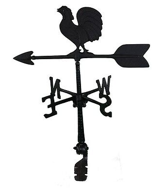 Montague Metal Products 24-Inch Weathervane with Rooster Ornament