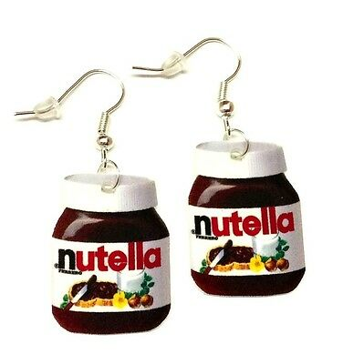 Nutella Spread Novelty Earrings