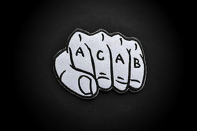 A.C.A.B.,Patch,Aufnäher,Aufbügler,Chopper,Iron On,Badge,Harley,Motorcycles