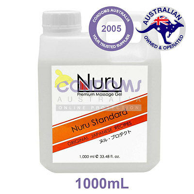 Nuru Gel - Premium Massage Gel - Standard 1000mL