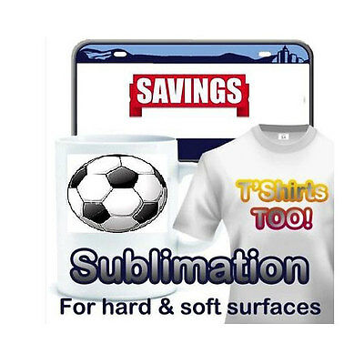 Heat Transfer Paper Dye Sub Sublimation ink 100 Sheets.