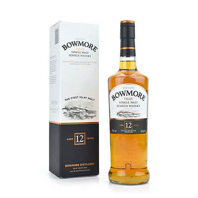 BOWMORE 12 YEAR OLD SCOTCH WHISKY 700mL