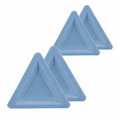 Beadalon Flocked Tri-Trays, 4 pack, 207A-051