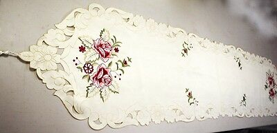 Long Embroidery Table Runner Vintage Home Decoration 40x175cm