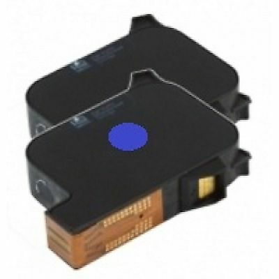 Ultimail 60 / 65 / 90 / 95 Replacement BLUE FP Franking ink Cartridge - PAIR