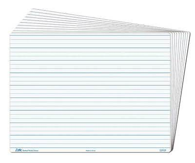 Whiteboard Dotted Thirds Write N Wipe Desk A4 (1 Piece) Writing Teacher Resource