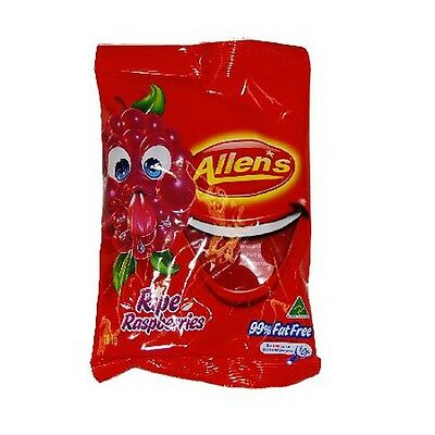 Conf Allens 190Gm Bags Raspberries