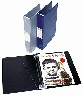 Magazine Binder Bantex A4 40Mm Black