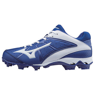 Mizuno Women's 9-Spike Finch Elite 2 Molded Softball Cleats - Royal - 320512