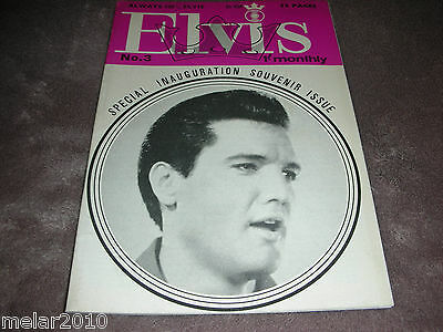 Elvis Monthly Mag. 6th Yr. #3 Mar1965 Special Inauguration Issue Always100%ELVIS