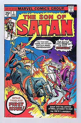 Son of Satan #1 Very Good/Fine 1975 Complete Glossy Cover Marvel Comics