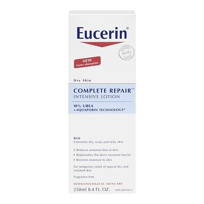 EUCERIN complete repair 10% urea 250ml
