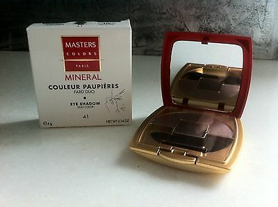 MASTERS COLORS - COULEUR PAUPIERES - Fard duo n°41