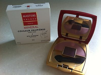 MASTERS COLORS - COULEUR PAUPIERES - Fard duo n°33 rose violet